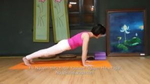 Yoga cơ bản tại nhà: Giúp nở ngực, thon gọn bắp tay, giảm mỡ bụng