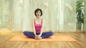 Yoga cơ bản - Tư thế xếp cánh bướm