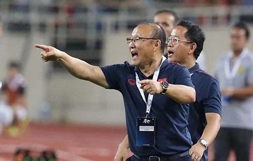 Ông Park nói điều không hài lòng sau trận Malaysia