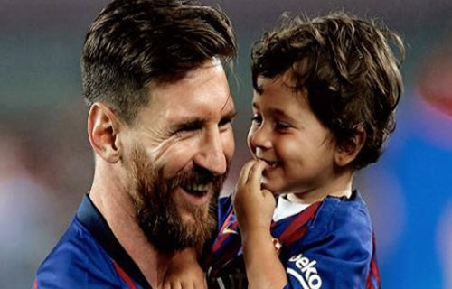 Mateo Messi, cậu bé siêu hài hước