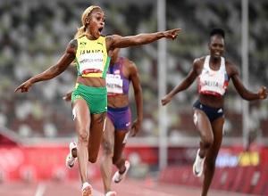 3 cô gái Jamaica làm sững sờ đường chạy 100m Olympic: Mẹ bỉm sữa giành HCB