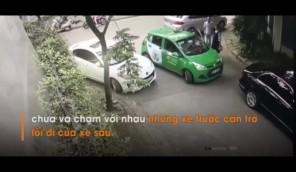 Thanh niên choảng tài xế taxi tóe máu bị CĐM lên án