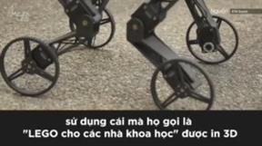 Giới thiệu chú robot có thể trượt patin như vận động viên