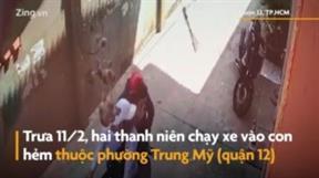Kẻ trộm cầm dao dọa đâm chủ nhà khi bị rượt đuổi ở TP.HCM
