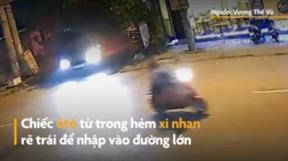 Phú Thọ: Nam thanh niên phóng thẳng xe máy vào ôtô