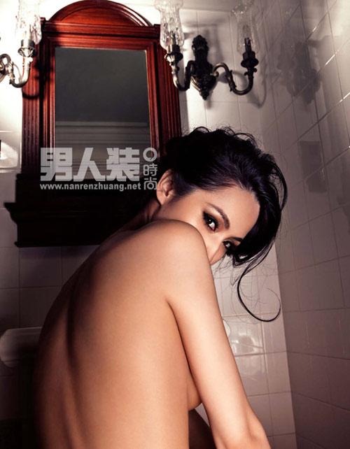 Sao phim sex 3D Nhục Bồ Đoàn khoe ảnh bán nude sốc