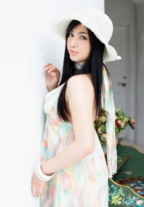 "Foto Hot Bintang Film Dewasa Jepang ""Saori Hara"""