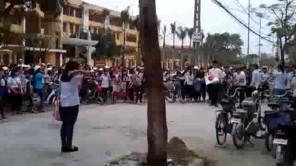 Thanh Hóa: Nam sinh tỏ tình bằng flash mob bị bạn gái từ chối