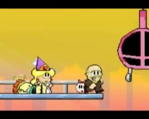 Hiệp sĩ Mario bị công chúa cắm sừng