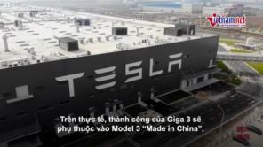 Khám phá siêu nhà máy của Tesla tại Thượng Hải