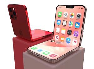 iPhone gập lại lạ lẫm với notch thu gọn
