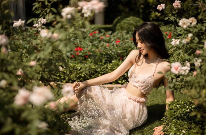 Ngẩn ngơ trước vẻ đẹp mong manh của nàng thơ