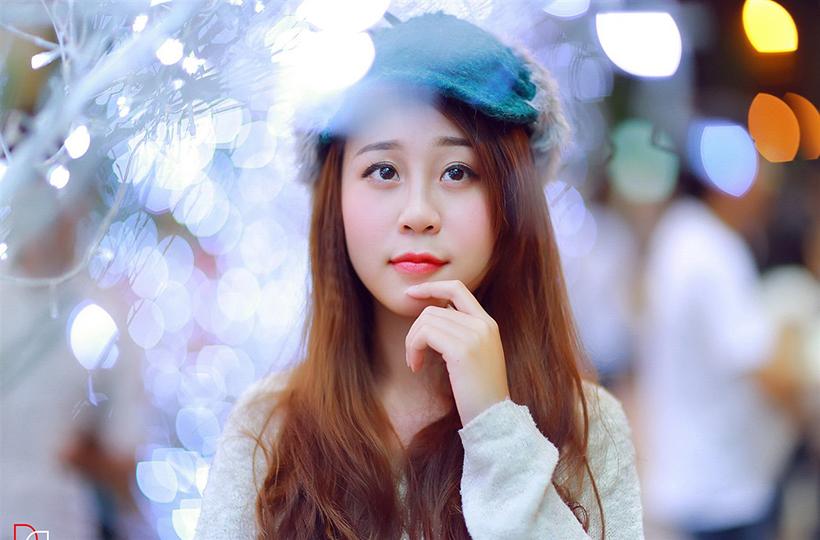 Vẻ đẹp trong sáng của thiếu nữ tuổi đôi mươi
