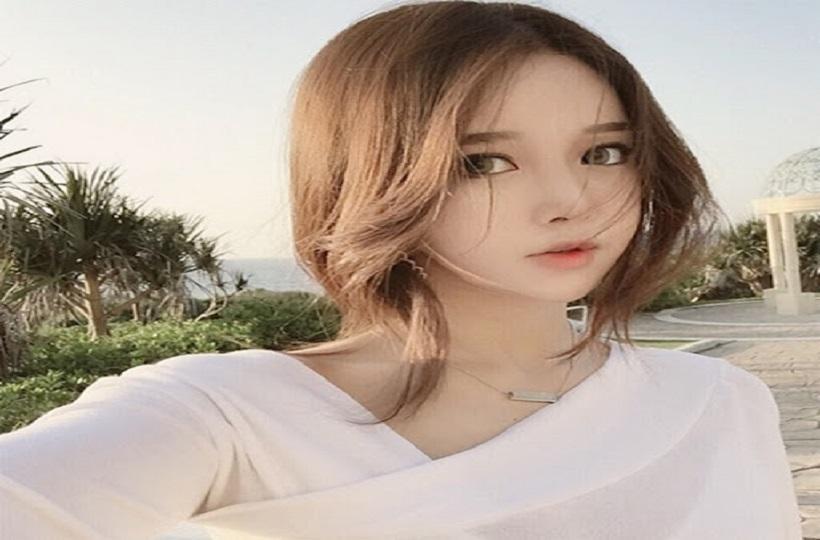 Cô gái Hàn xinh tựa thiên thần