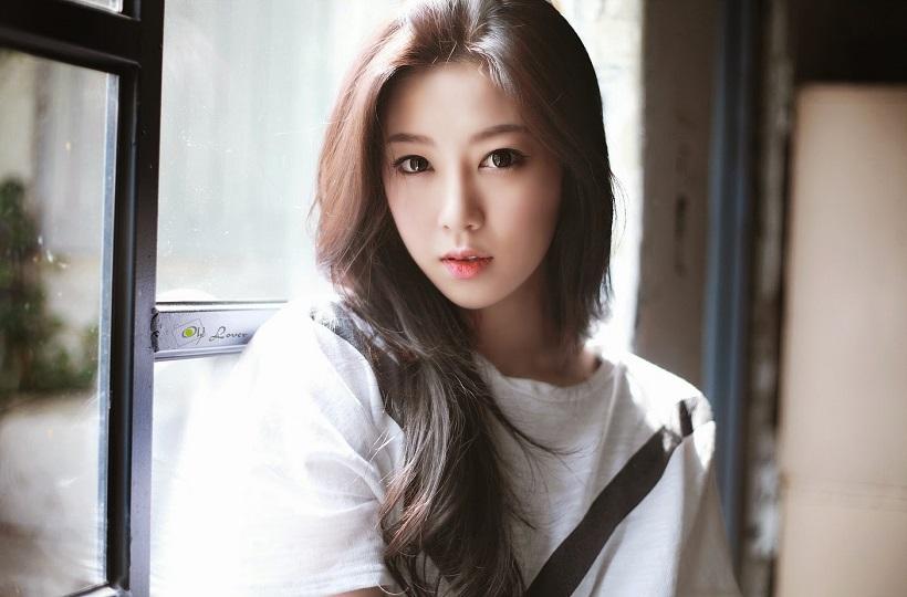Gái xinh Hàn Quốc dễ thương